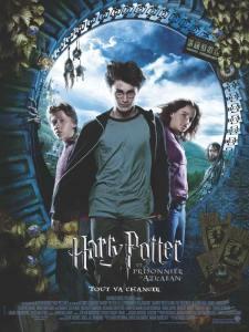 Affiche de film Harry potter et le prisonnier d'Azkaban